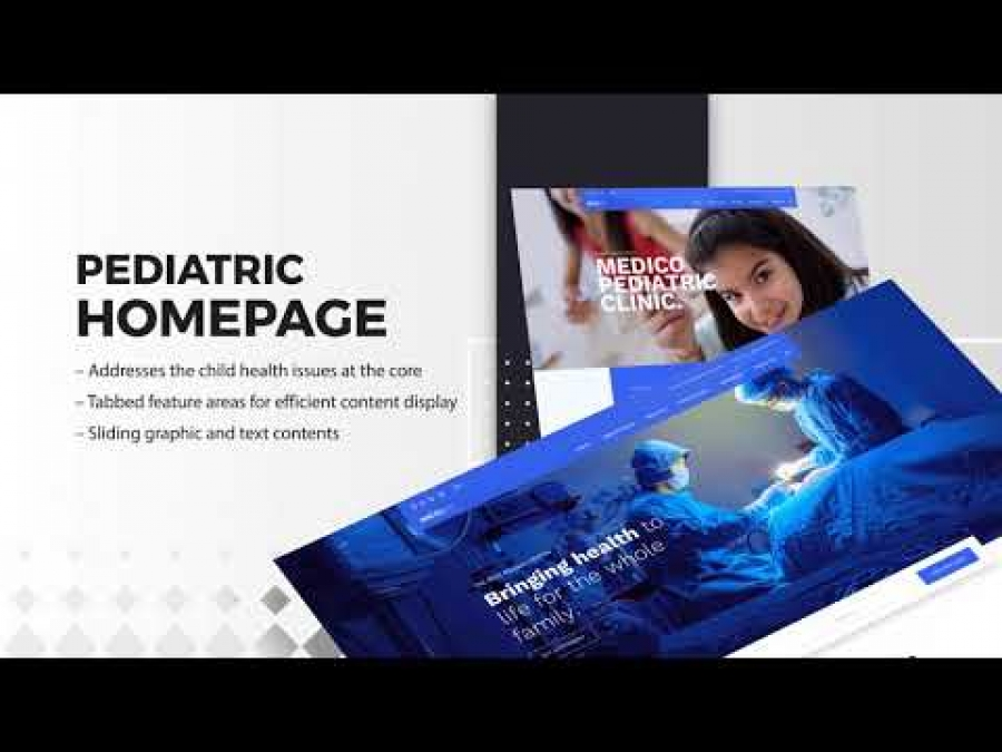 Medico : Joomla Template for Hospital, Medical Clinic & Healthcare Sites