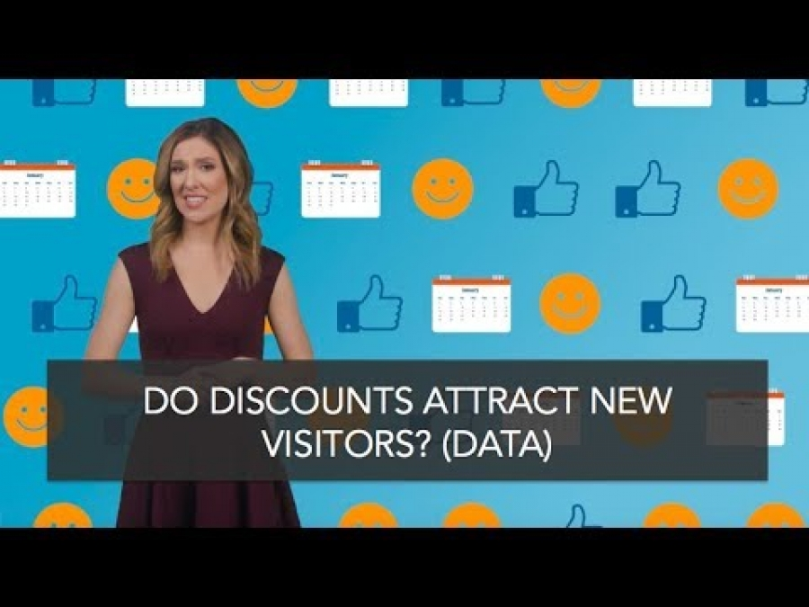 Do Discounts Attract New Visitors?