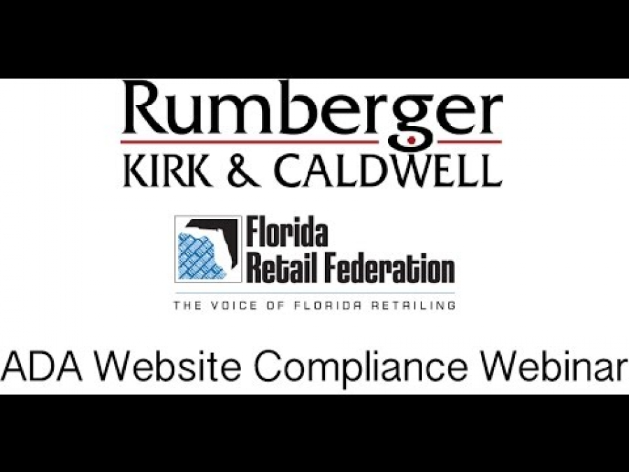 ADA Website Compliance Webinar