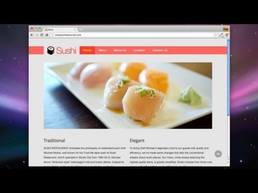 Build a Joomla Website in 1 Hour! - 2013 (Joomla 3!)