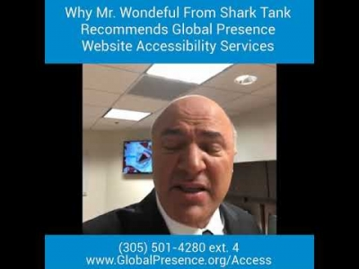 Why Mr. Wondeful (Kevin O'Leary) From Shark Tank Recommends Global Presence?