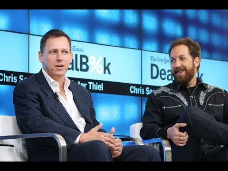 Peter Thiel 'How anyone can make it big'