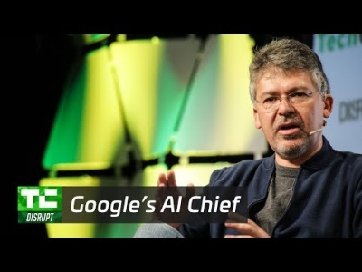 Making Computers Smarter with Google's AI chief John Giannandrea | Disrupt SF 2017