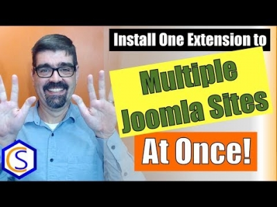 How to Install One Extension to Multiple Joomla Sites at Once
