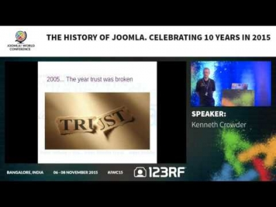 JWC15 - The History of Joomla - Celebrating 10 years in 2015